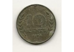 10 cent 1943 Zink Zf+