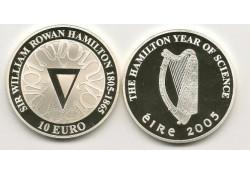Ierland 2005 10 Euro Proof