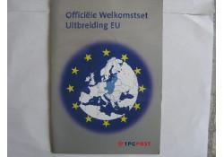 5 euro UNC 2004 Europa Munt, met postzegels