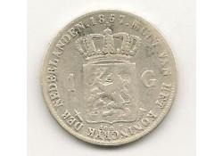 1 Gulden 1857 Zf