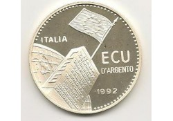 X 19 Italië Ecu 1992 Proof