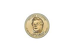 KM ??? U.S.A. 13th President Dollar 2010 D Millard Fillmore
