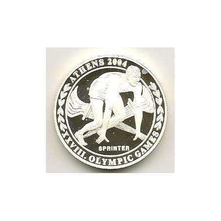 Km 205 Uganda 2000 Shillings 2003 Proof