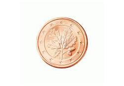 1 Cent Duitsland 2010 F UNC