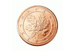 5 Cent Duitsland 2010 G UNC