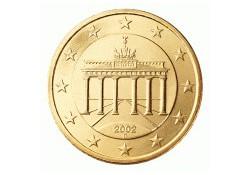 50 Cent Duitsland 2010 D UNC