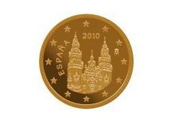 5 Cent Spanje 2010 UNC
