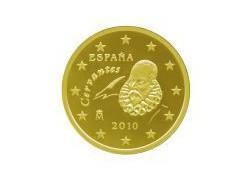 10 Cent Spanje 2010 UNC