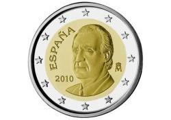 2 Euro Spanje 2010 UNC Nieuw ontwerp!!