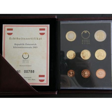 Proofset Oostenrijk 2003