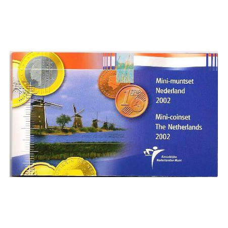 Nederland 2002 Mini muntset