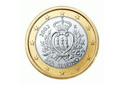 1 Euro San Marino 2010 UNC
