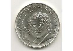 San Marino 2010 5 euro Zilver Carvaggio