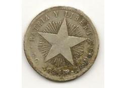 Km 13.2 Cuba 20 Centavos 1915 Zf-