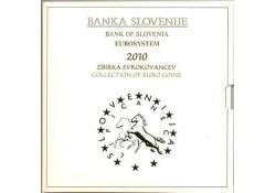 Bu set SLovenië 2010 Met de 2 & 3 euromunt.
