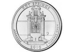 KM 468 U.S.A ¼ Dollar Hot Springs  2010 D UNC