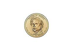 KM ??? U.S.A. 14th President Dollar 2010 D Franklin Pierce