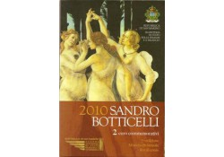 2 Euro San Marino 2010 Sandro Botticelli Bu
