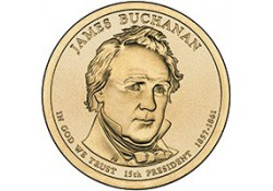 KM ??? U.S.A. 15th President Dollar 2010 D James Buchanan