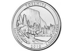 KM 471 U.S.A ¼ Dollar Yosemite 2010 P UNC