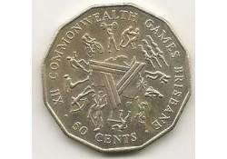 Km  74 Australië 50 cents 1982 Pr