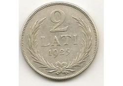 Km  8 Letland 2 Lati 1925 Pr-
