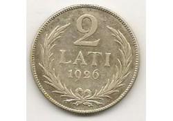 Km  8 Letland 2 Lati 1926 Pr-
