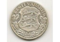 Km 20 Estland 2 Krooni 1930 Zf+