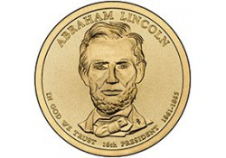 KM ??? U.S.A. 16th President Dollar 2010 P  Abraham Lincoln