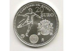Spanje 2010 20 euro wereldkampioen voetbal