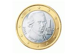 1 Euro Oostenrijk 2010 UNC