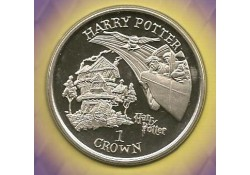 Km 1148 Isle of man 1 Crown 2002 Unc Harry Potter