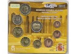 Bu set Spanje 2011 World Money Fair Berlin