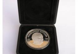 25 Gulden NA 1990 Proof, Paus Johannes Paulus II Incl. Dsje