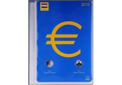 Importa supplement Beatrix Euro 2010 Gelegenheidsmunt 3710