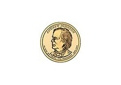 KM ??? U.S.A. 17th President Dollar 2011 P  Andrew Johnson