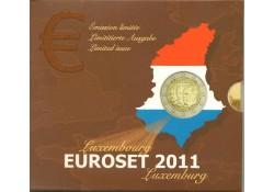 Bu set Luxemburg 2011 Alt. uitgifte