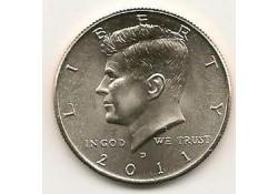 KM ??? U.S.A. ½ Dollar 2011 D UNC