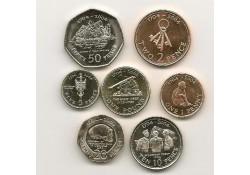 Gibraltar 2004 1 cent t/m 1 pound Unc