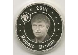 Penning 2001 Muntmeester Zilver incl dsje & certificaat