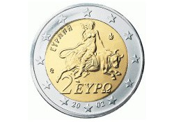 2 Euro Griekenland 2010 UNC