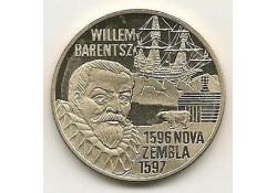 Penning 1996, 5 euro Willem Barentsz