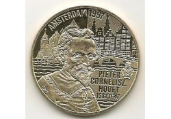 Penning 1997, 5 Euro Pieter Cornelisz Hooft