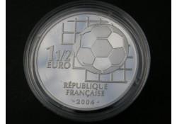 Frankrijk 2004 1½ Euro 100 jaar Fifa Proof