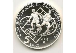 San Marino 2004 5 euro Wk 2006 Proof