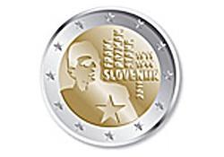 2 Euro Slovenië 2011 Franc Rozman-Stane Proof in capsule