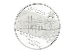 Aruba 2011 5 florin 25 jaar Status Aparte incl dsje & cert.