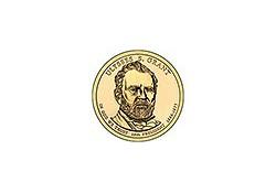 KM ??? U.S.A. 18th President Dollar 2011 D  Ulysses S. Grant