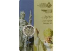 Bu minikit San Marino 2011 met de 2 euromunt