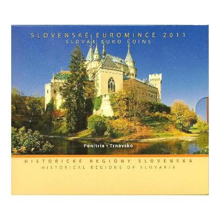 Bu set Slowakije 2011 Historische regio's